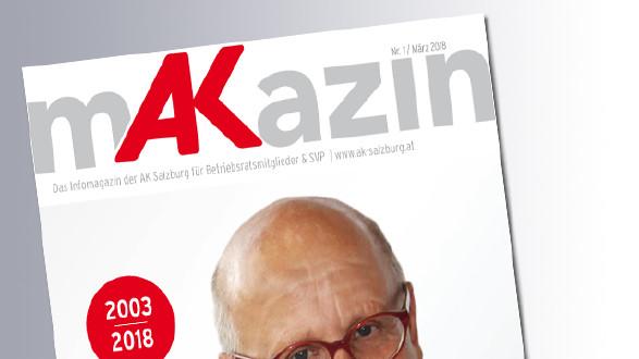 Titelseite Makazin 2/2018 © AK, AK