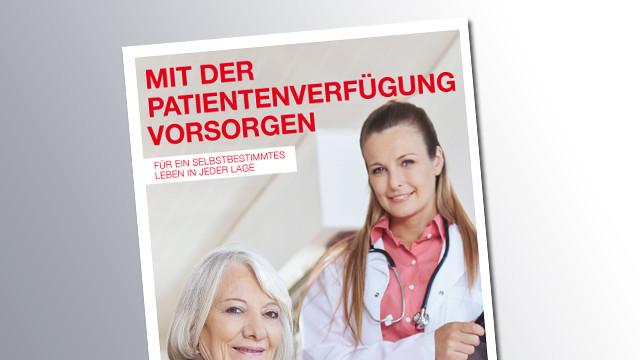 Titelseite Patientenverfügung © AK Salzburg, AK