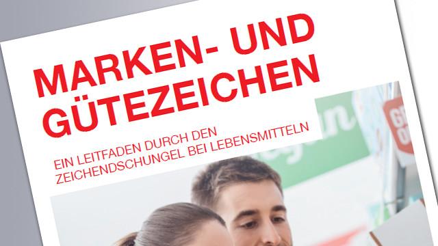 Titelseite Lebensmittelkennzeichnung © AK, AK