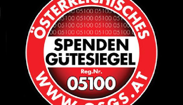 Österreichisches Spendengütesiegel Reg.Nr. 05100 © osgs.at, osgs.at