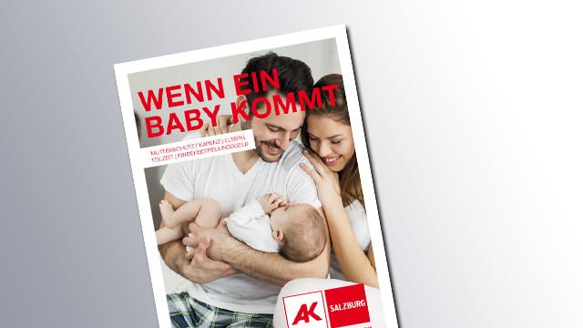 Titelseite Wenn ein Baby kommt © AK, AK
