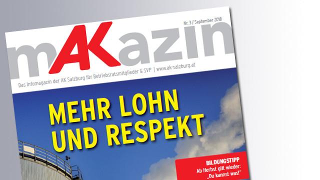 Titelseite Makazin © AK, AK