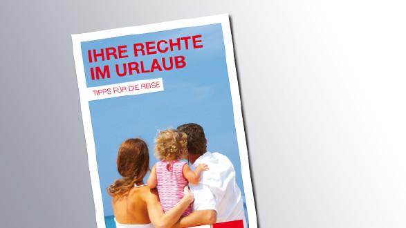 Titelseite Ihre Rechte im Urlaub © AK Salzburg, AK