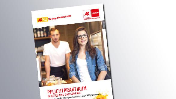 Titelseite Pflichtpraktikum im Hotel- und Gastgewerbe © AK Salzburg