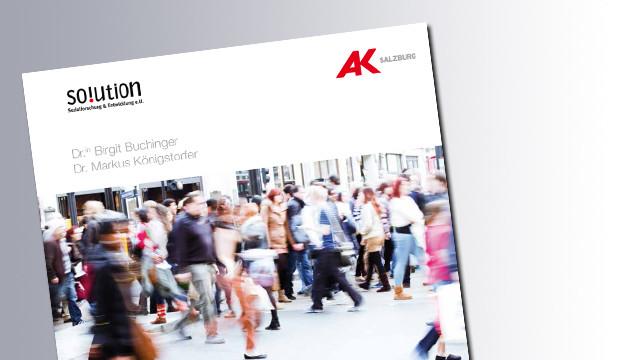 Titelseite Soziale Lagen und Armutsgefährdung © AK Salzburg