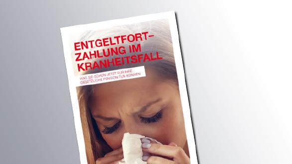 Titelseite Entgeltfortzahlung im Krankheitsfall © AK Salzburg, AK