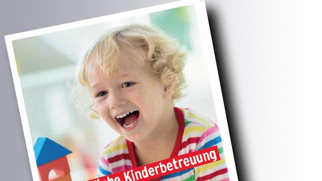 Titelseite Betriebliche Kinderbetreuung © famvaldman, stock.adobe.com
