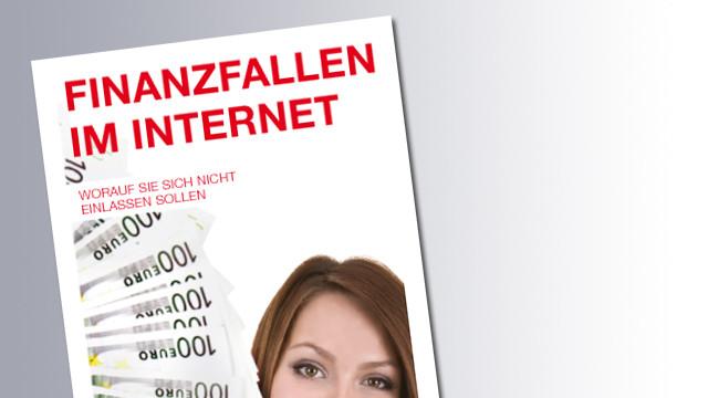 Titelseite Finanzfalle im Internet © AK, AK