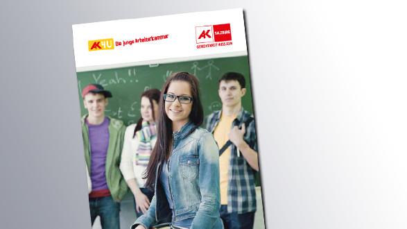 Titelseite Infos rund um die Schule © AK Salzburg