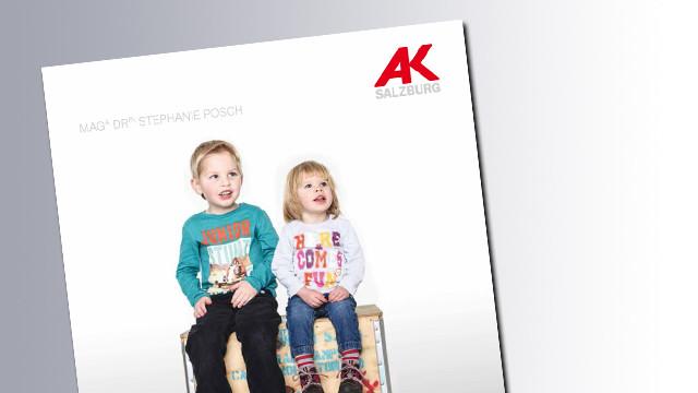 Titelseite Kinderbetreung © AK Salzburg