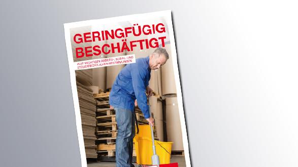 Titelseite Geringfügig Beschäftigt © AK Wien, AK