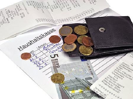 Geldbörse mit Münzen © FM2, Fotolia.com