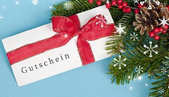Gutschein unter dem Weihnachtsbaum © drubig-photo, fotolia.com