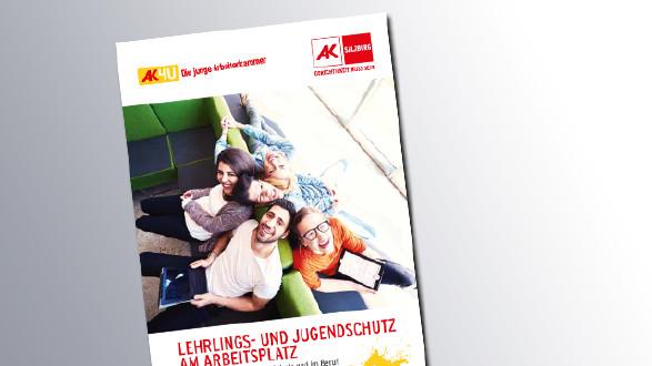 Titelseite Lehrlings- und Jugendschutz am Arbeitsplatz © AK Salzburg