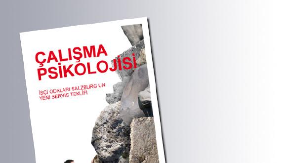Titelseite Arbeitspsychologie_türkisch © AK Salzburg