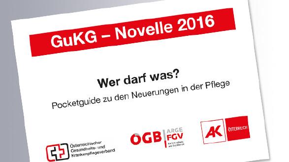 Pocketguide GuKG-Novelle © AK, AK