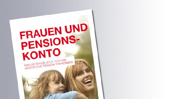 Titelseite Frauen und Pensionskonto © AK Salzburg