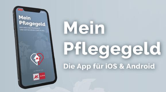 Pflegegeld-App © AK, AK