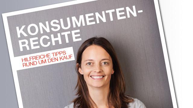 Titelseite Konsumentenrechte © AK, AK