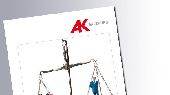 Titelseite Verteilungsgerechtigkeit - Österreich © AK Salzburg