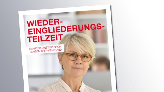 Titelseite Wiedereingliederungsteilzeit © AK Salzburg