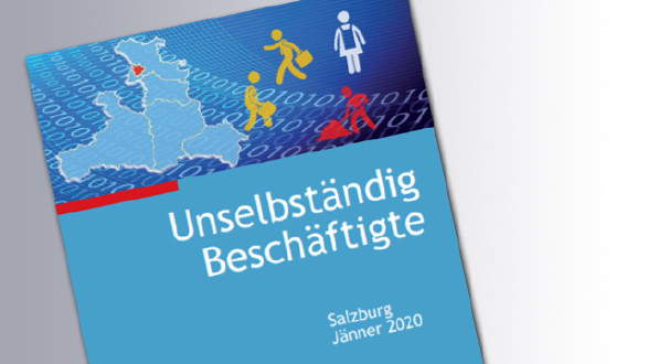 Unselbständig Beschäftigte © Land Salzburg, AK Salzburg, Land Salzburg, AK Salzburg