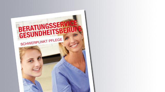 Titelseite Beratungsservice Gesundheutsberufe © AK Salzburg