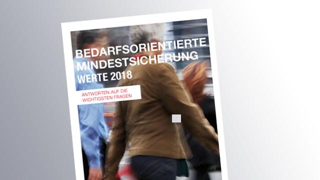 Titelseite Mindestsicherung © AK Salzburg, AK Salzburg