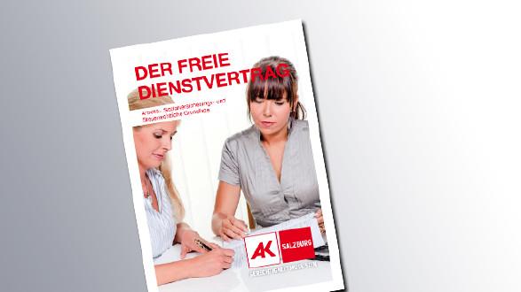 Titelseite Der freie Dienstvertrag © AK Salzburg