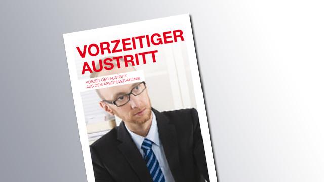 Titelseite Vorzeitiger Austritt © AK Wien, AK