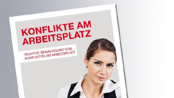 Titelseite Konflikte am Arbeitsplatz © AK, AK