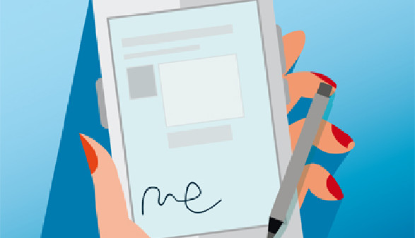 Handy-Signatur © AK Salzburg, AK Salzburg