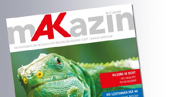 Titelseite Makazin 1/2018 © AK, AK