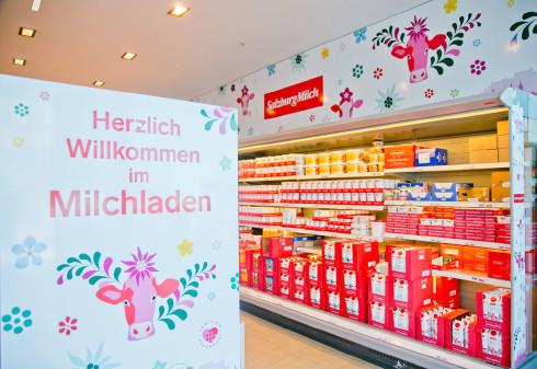 Milchladen © SalzburgMilch, SalzburgMilch