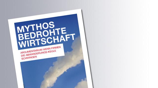 Titelseite Mythos Bedrohte Wirtschaft © AK, AK