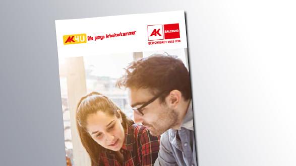 Titelseite Arbeitszeit für Jugendliche © AK Salzburg