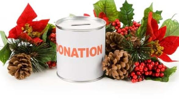 Spendenbox mit Weihnachtszweig © Feng Yu, fotolia.com