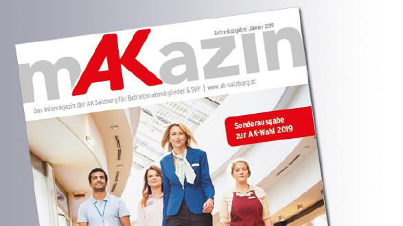 mAKazin zur AK-Wahl 2019 © AK
