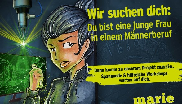 Das neue Projekt der AK: Marie! © AK Salzburg, galcom