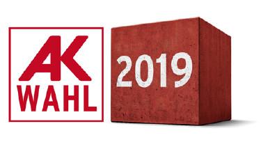 AK-Wahl von 28.1. bis 8.2.2019 © Arbeiterkammer Salzburg