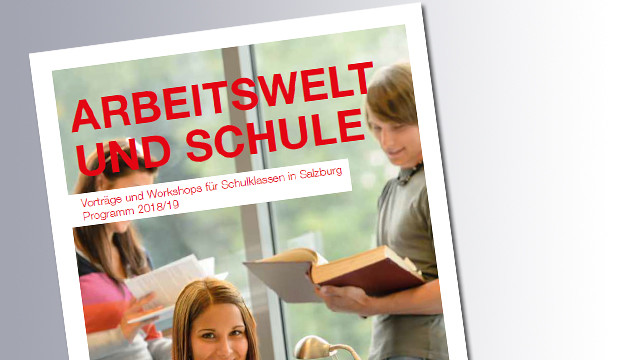 Titelseite Arbeitswelt und Schule © Ak Salzburg
