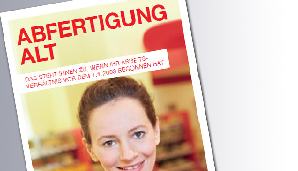 Titelseite Abfertigung Alt © AK Wien