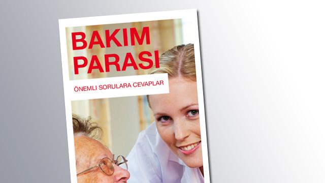 Titelseite Pflegehilfe Türkisch © AK Salzburg
