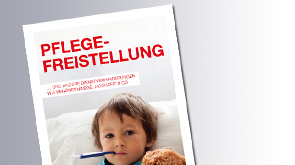 Titelseite Pflegefreistellung © AK Salzburg, AK Salzburg