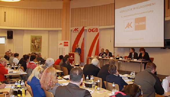 Kammervollversammlung Plenum © AK Salzburg, AK Salzburg