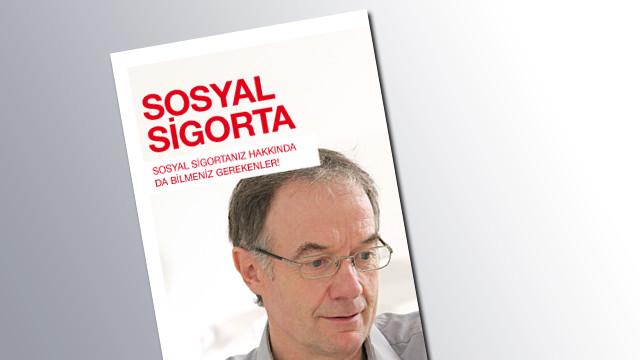Titelseite Sozialversicherung Türkisch © AK Salzburg