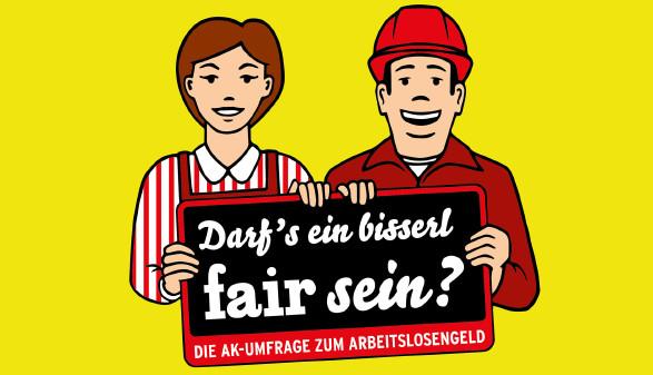 Umfrage zum Arbeitslosengeld © AK
