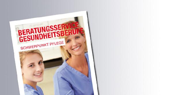 Titelseite Berautngsservice für Pflegeberufe © AK Salzburg