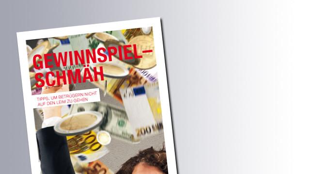Titelseite Gewinnspiel-Schmäh © AK Salzburg