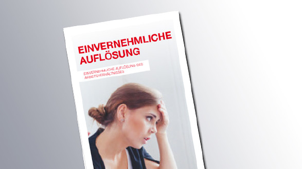 Titelseite Einvernehmliche Auflösung © AK Salzburg, AK